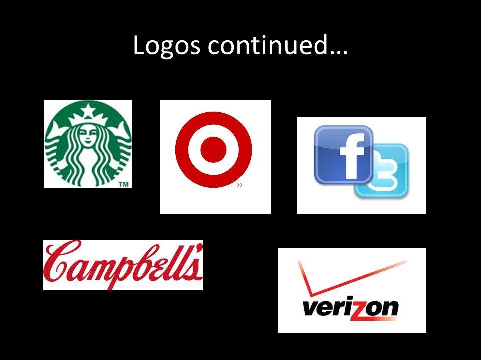 Logos continued…