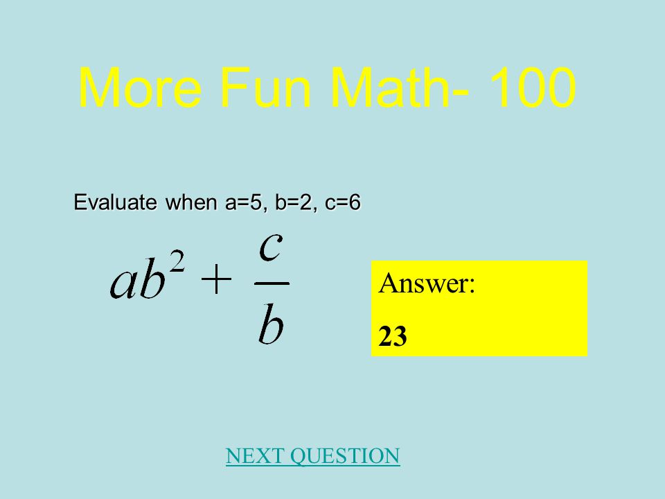 Simplifying Radical Expressions - 500 Answer: NEXT QUESTION