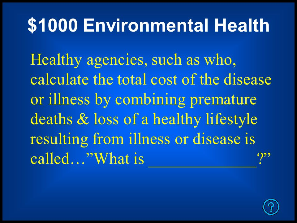 $1000 Take a Risk Name 2 chemicals from the POP list and explain their sources.