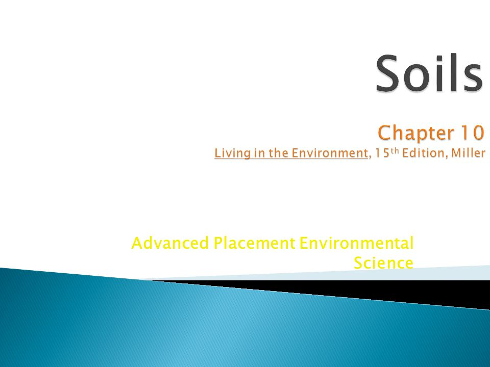Advanced Placement Environmental Science