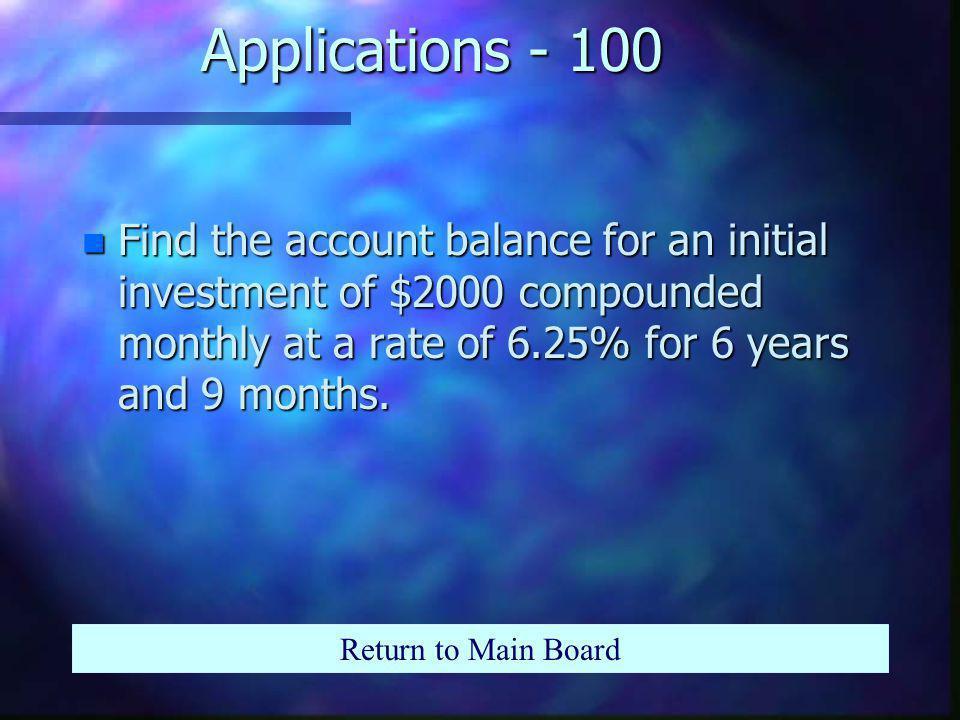 Properties - 500 n Write as a single log: Return to Main Board