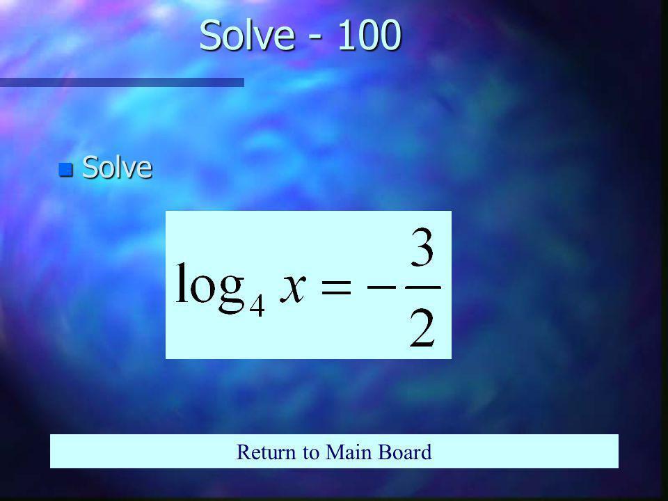 Simplify - 500 n Simplify Return to Main Board