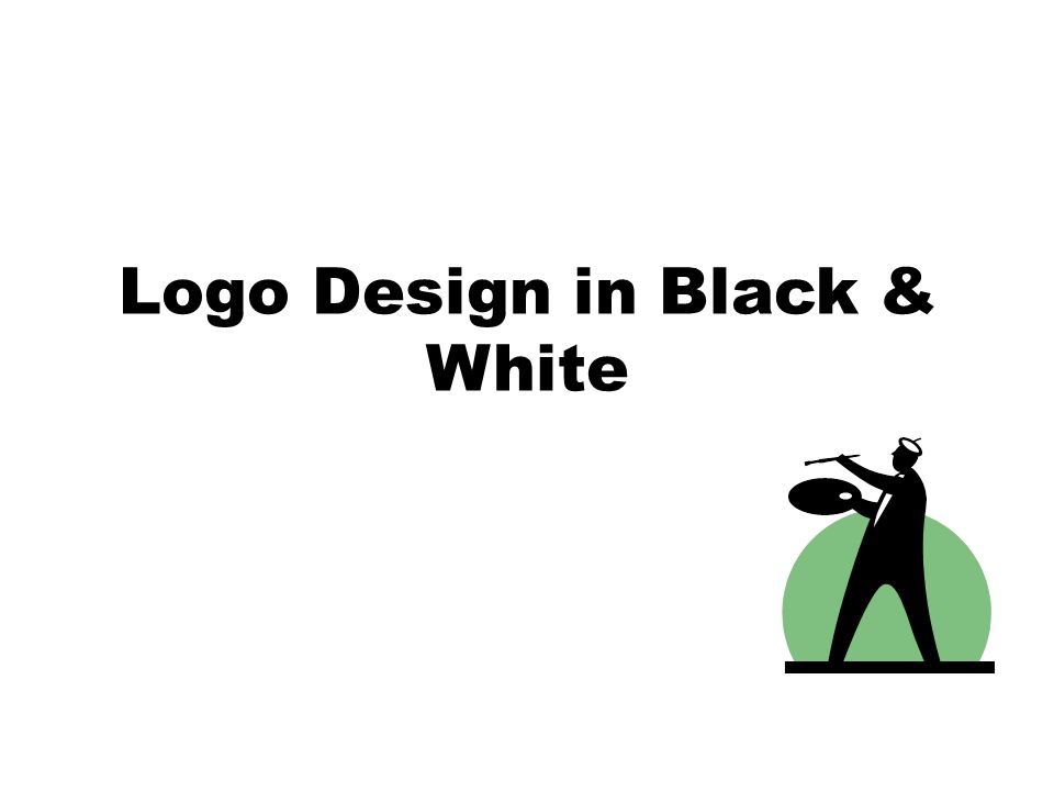 Logo Design in Black & White