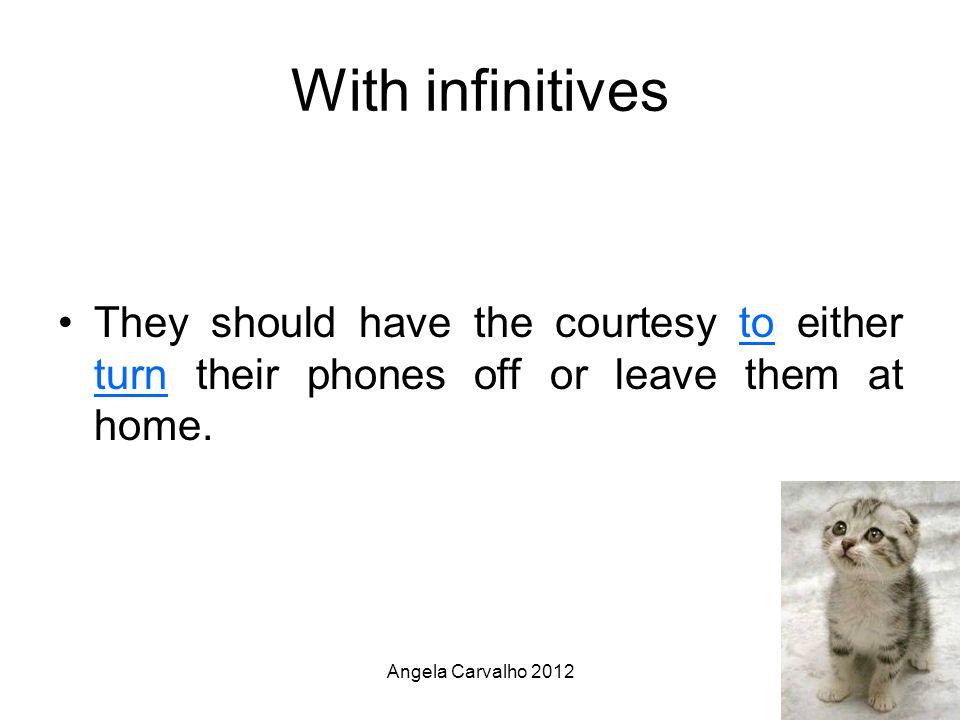Angela Carvalho 2012 Neither...Nor Negative meaning E.g.