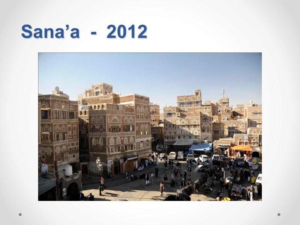Sana'a - 2012