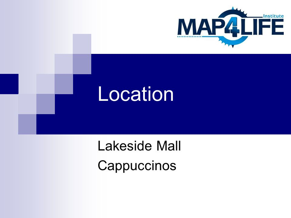 Location Lakeside Mall Cappuccinos