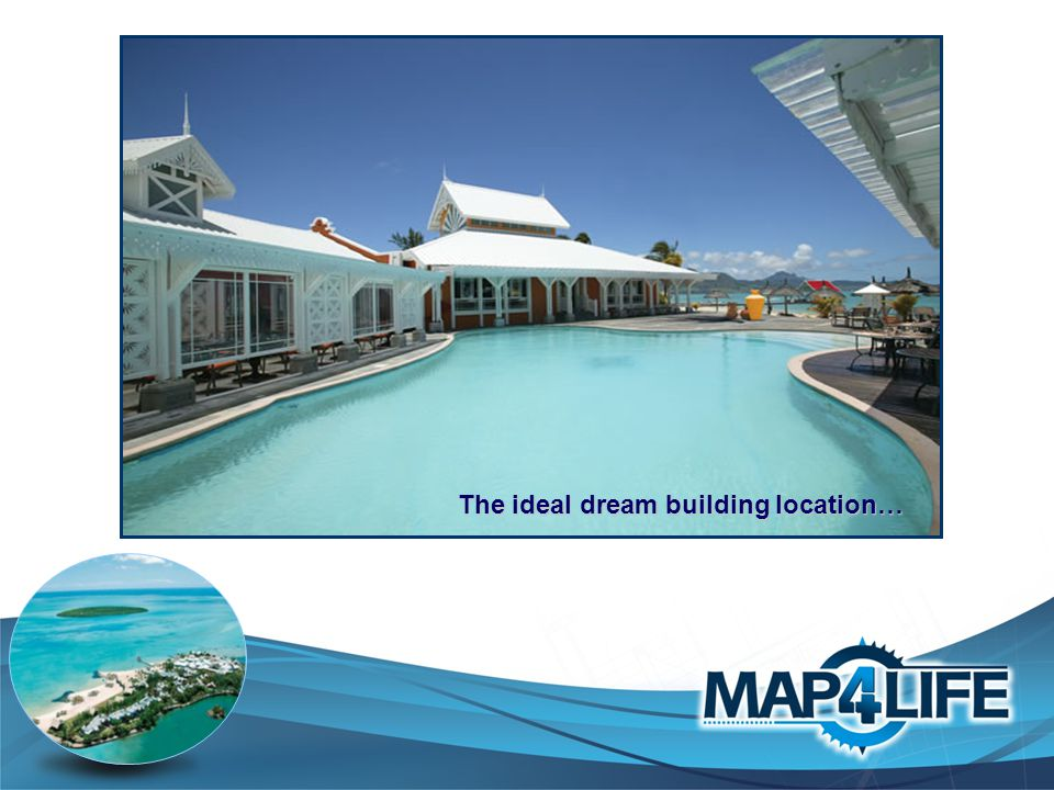 The ideal dream building location…