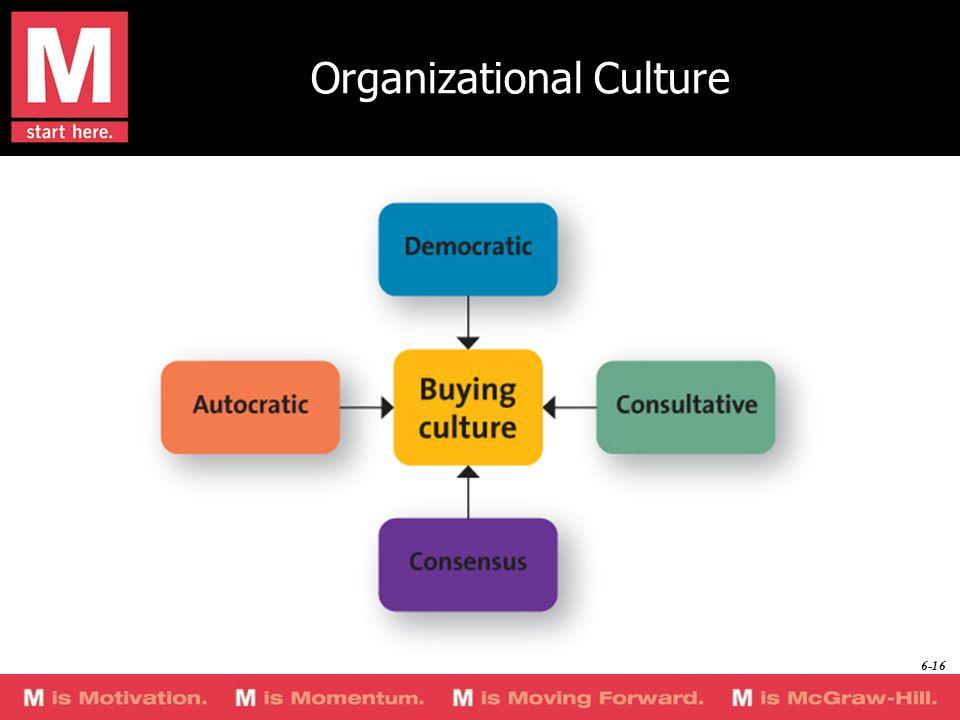 Organizational Culture 6-16
