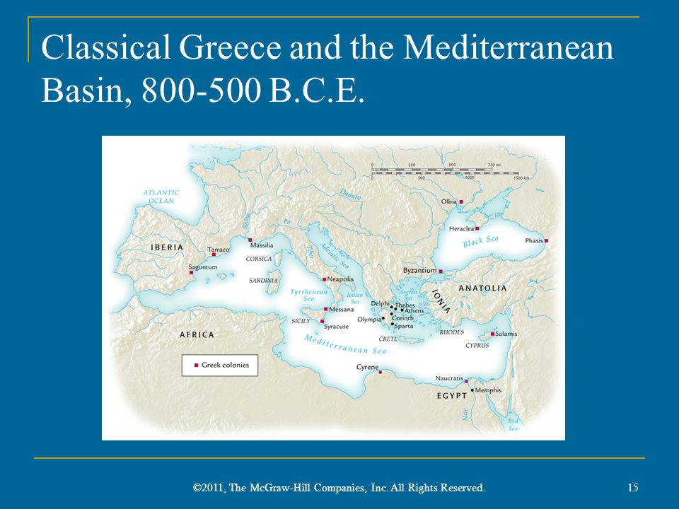 Classical Greece and the Mediterranean Basin, 800-500 B.C.E.