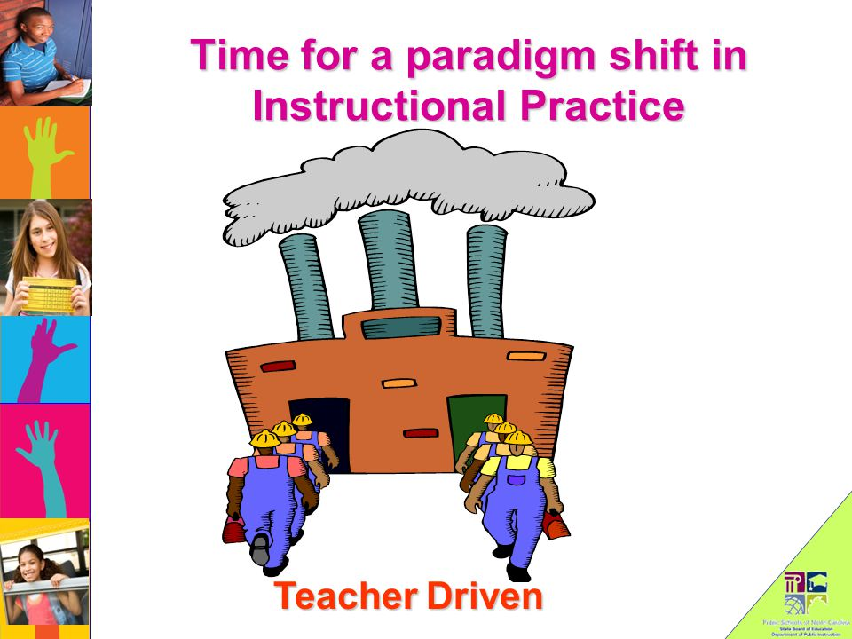 Time for a paradigm shift in Instructional Practice Teacher Driven