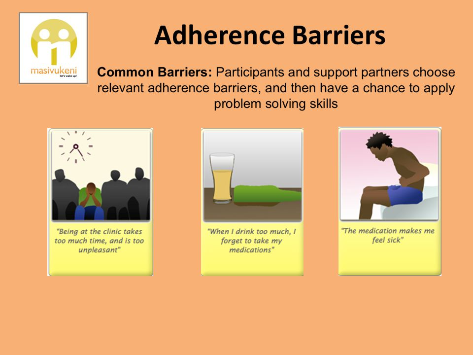 Adherence Barriers