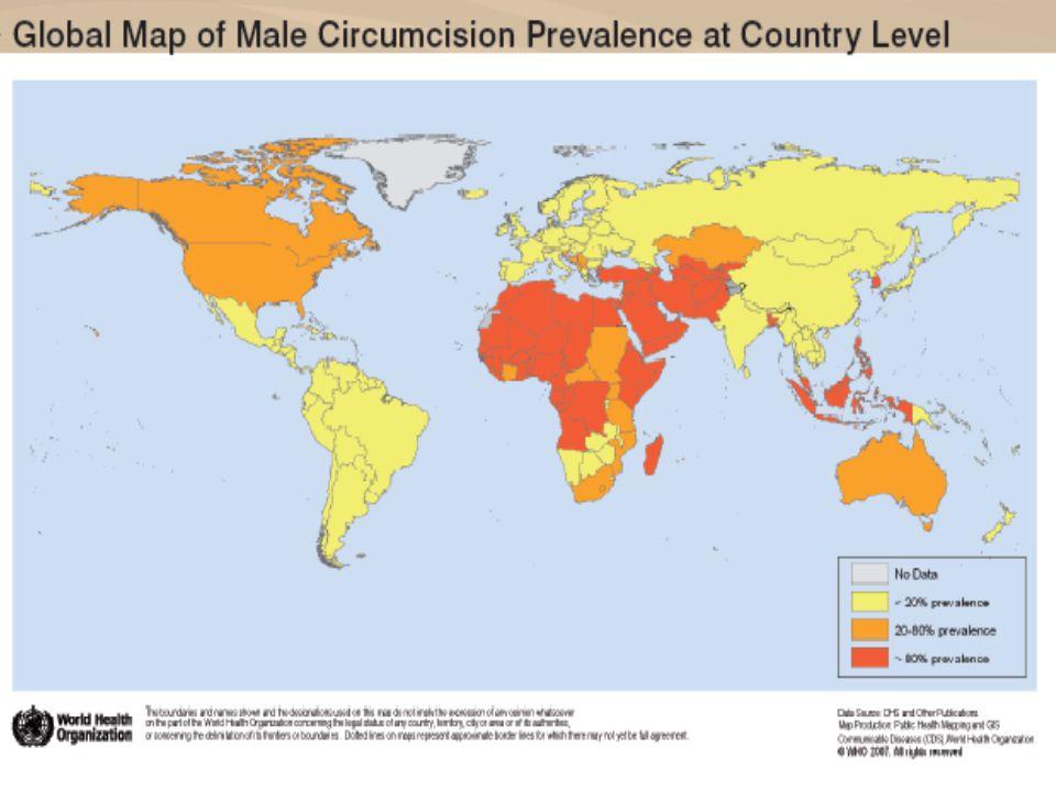 WHO Map MC Globally