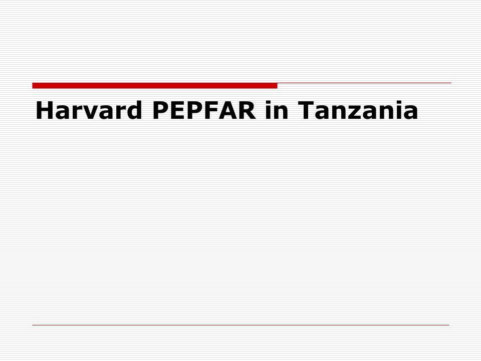 Harvard PEPFAR in Tanzania
