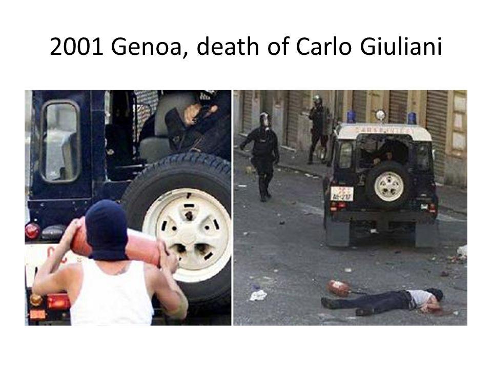 2001 Genoa, death of Carlo Giuliani