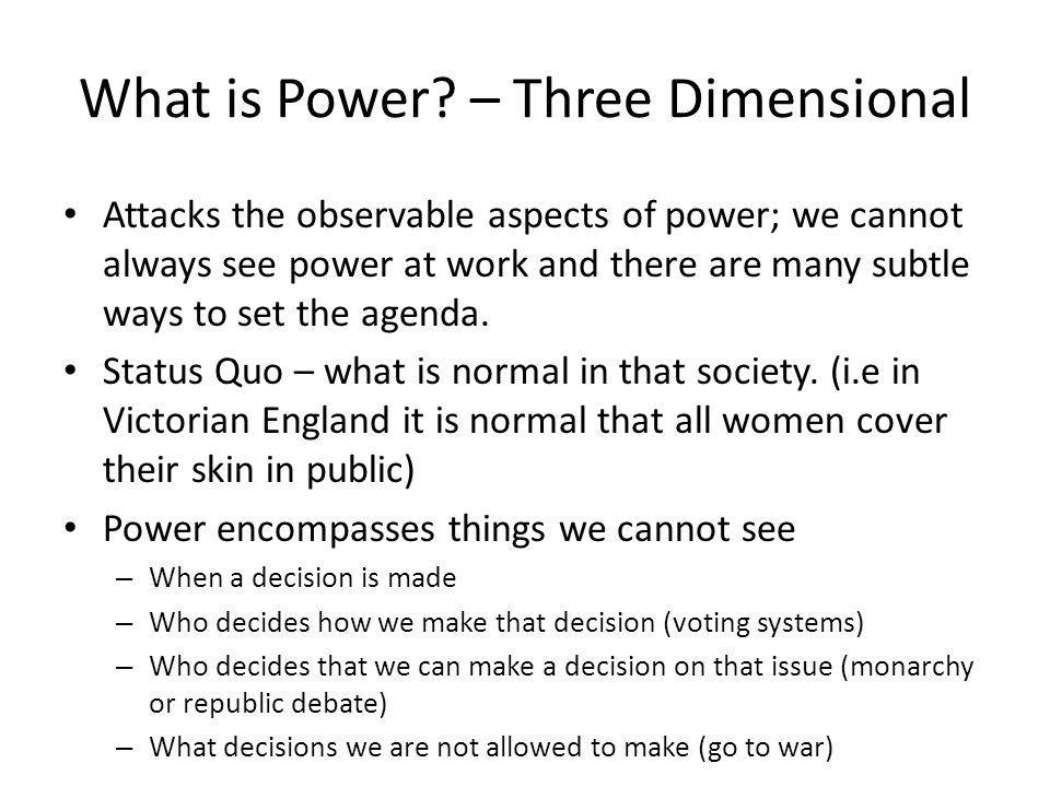 What is Power.