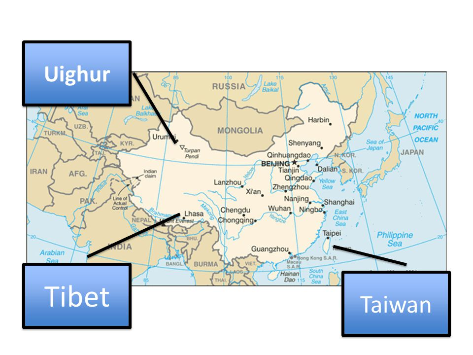 Tibet Uighur Taiwan