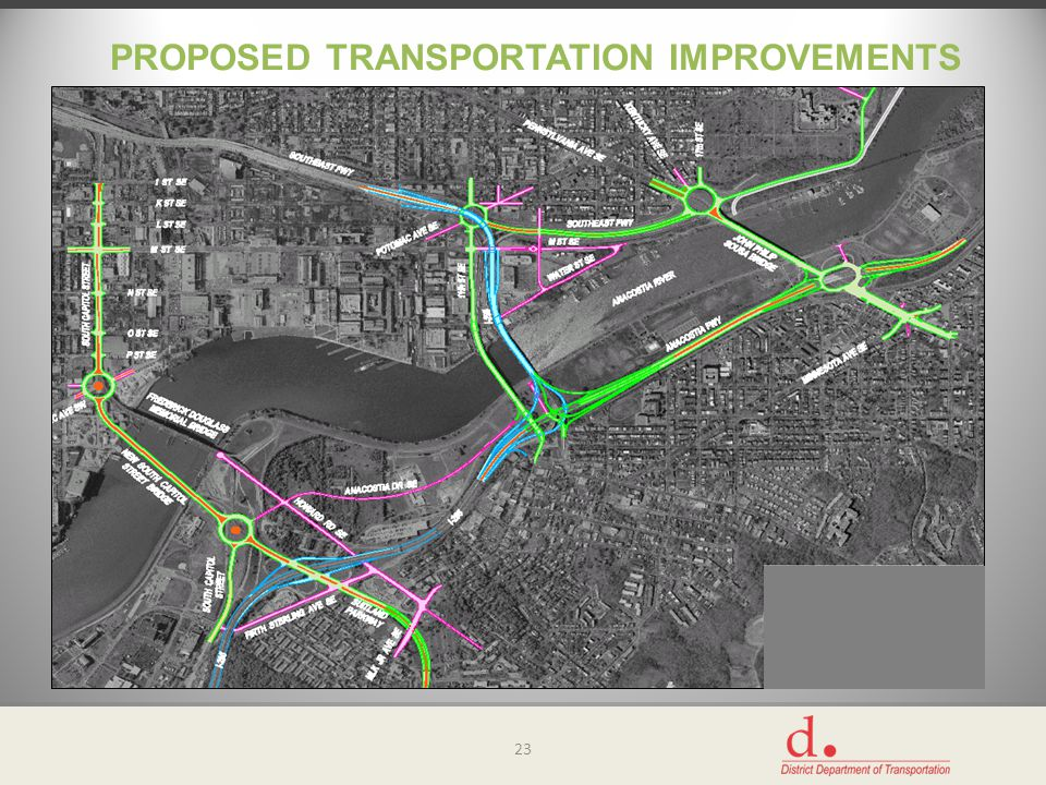 PROPOSED TRANSPORTATION IMPROVEMENTS 23