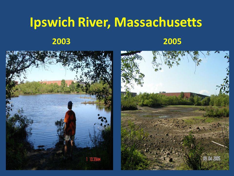 Ipswich River, Massachusetts 20032005