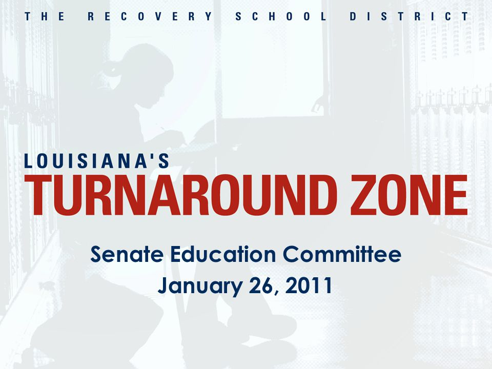 Senate Education Committee January 26, 2011