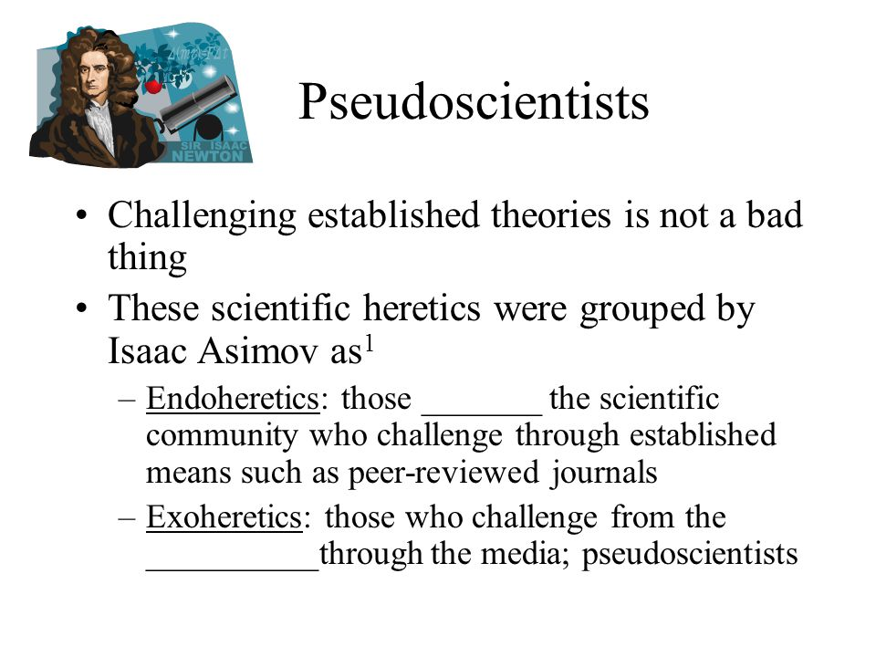 Health-related Pseudoscience A.k.a.