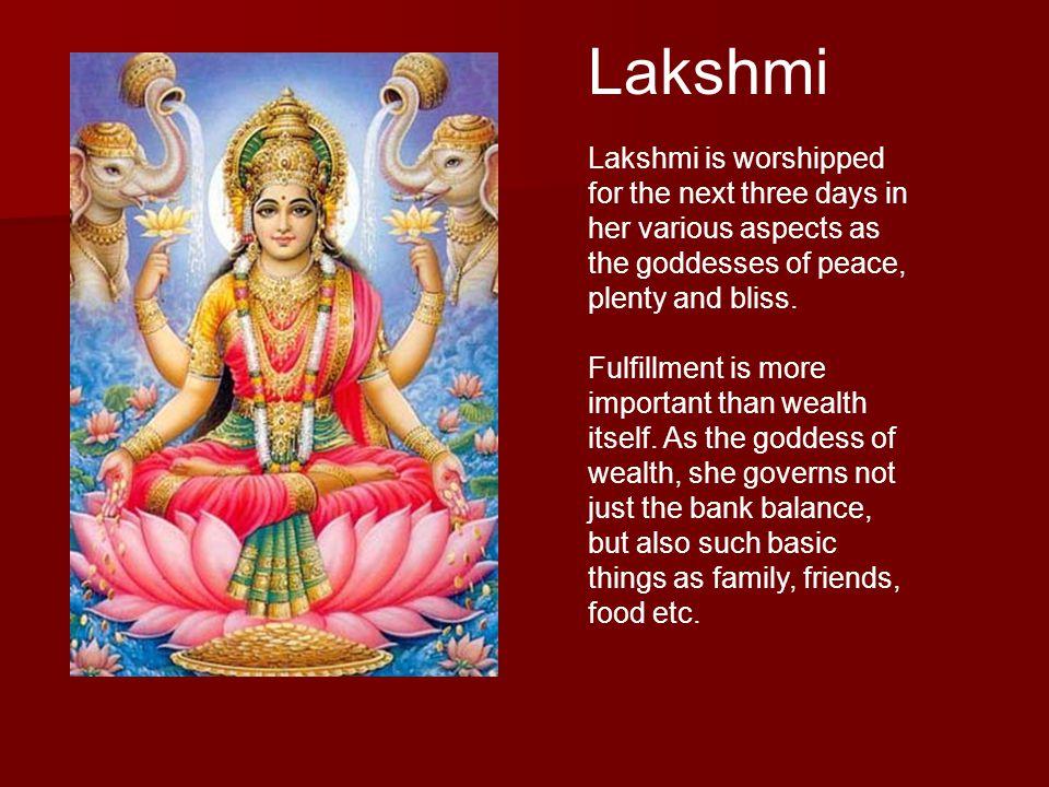 Saraswati Saraswati is the goddess of knowledge.