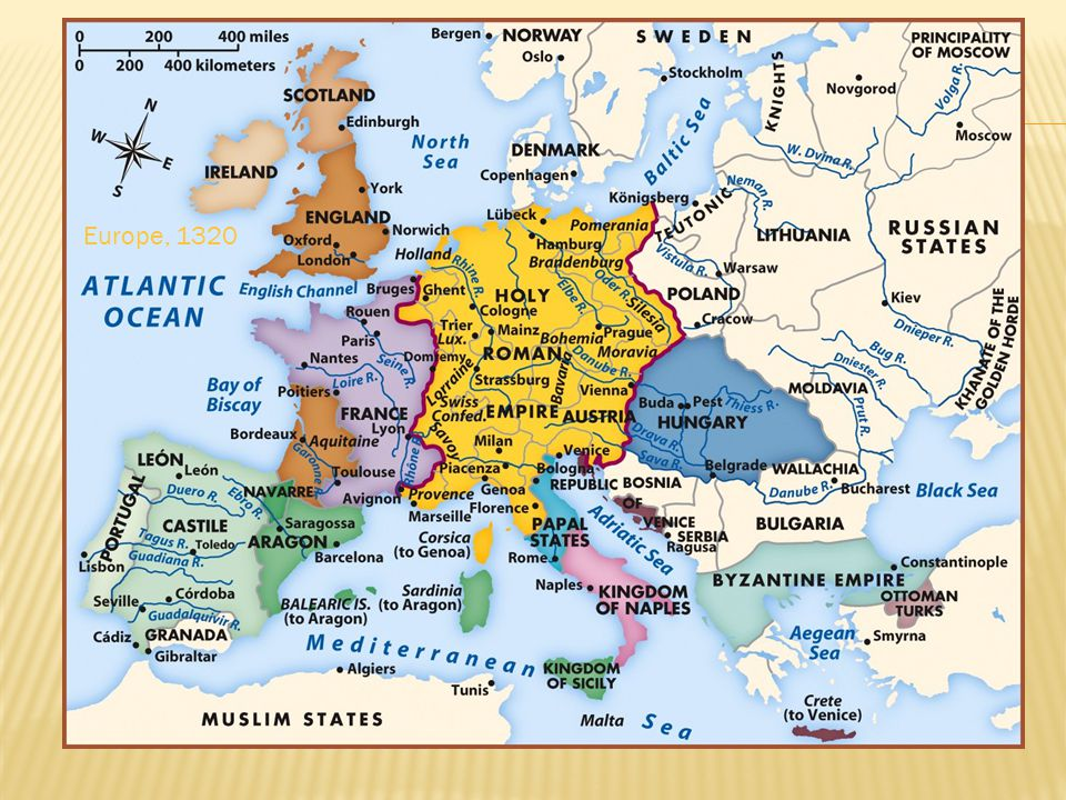 Europe, 1320