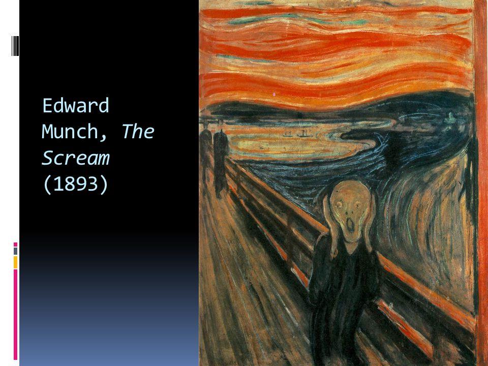 Edward Munch, The Scream (1893)