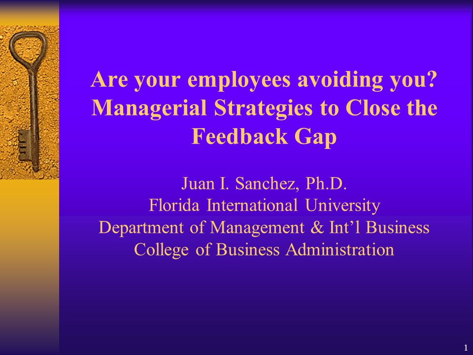 21 Management Strategy: Best feedback-giving practices Give task-level and motivational feedback Describe poor performance in behavioral terms Focus on specific, controllable behavior Ask employee for improvement suggestions Give negative feedback in private Use effective timing Compare employee performance to a standard, not to other employees Use a feedback script (e.g., DASR)