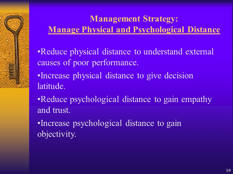 18 Management Strategy: Understand Causes of Poor Performance Receive Attribution training.