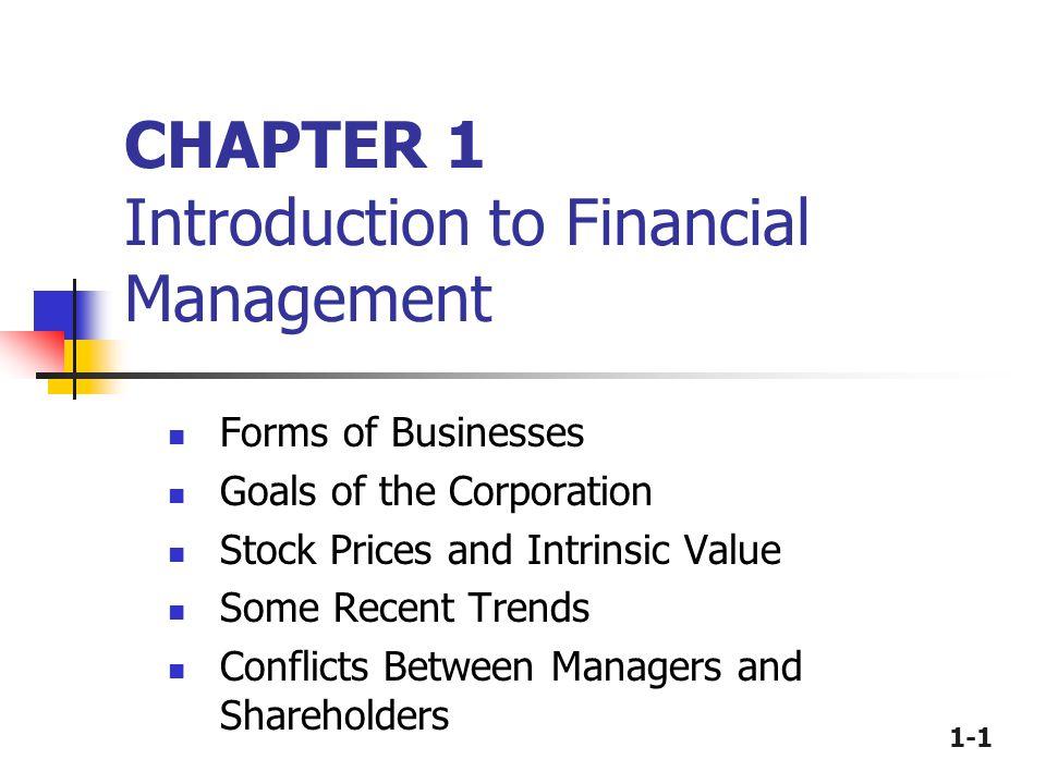 1-2 Alternative Forms of Business Organization Proprietorship Partnership Corporation