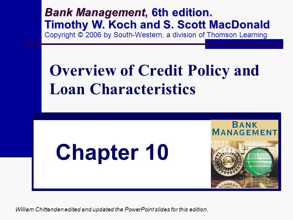 Characteristics of Different Types of Loans The Secondary Mortgage Market Involves the trading of previously originated residential mortgages Can be sold directly to investors or packaged into mortgage pools Home Equity Loans Second Mortgage Loans Typically shorter term than first mortgages Subordinated to first mortgage