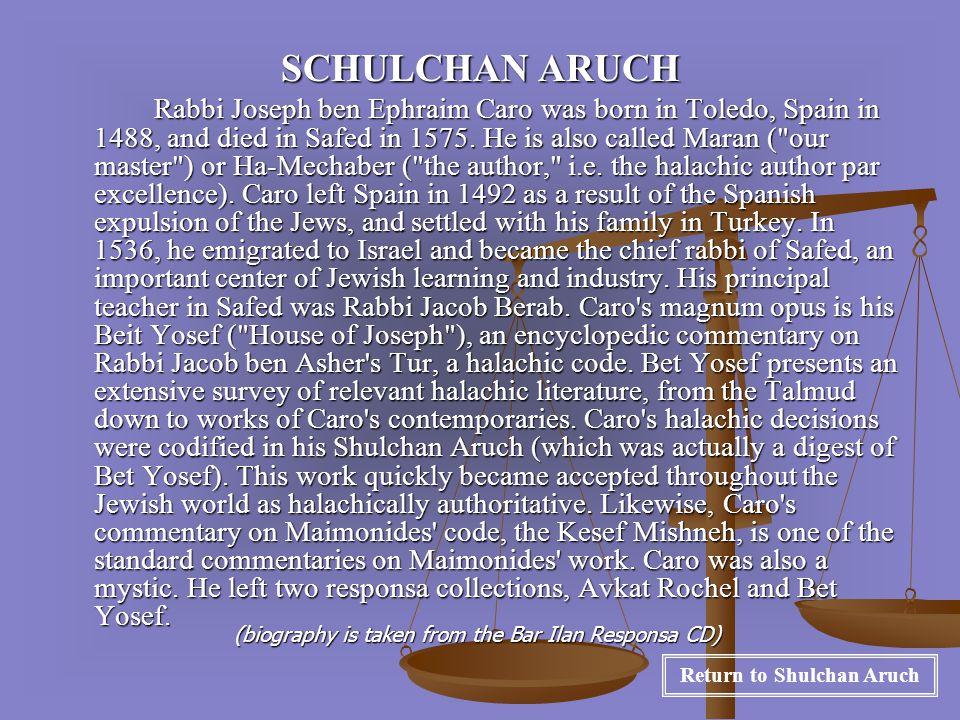 YECHAVVEH DA`AT Rabbi Ovadia Yossef was born in Baghdad in 1920.