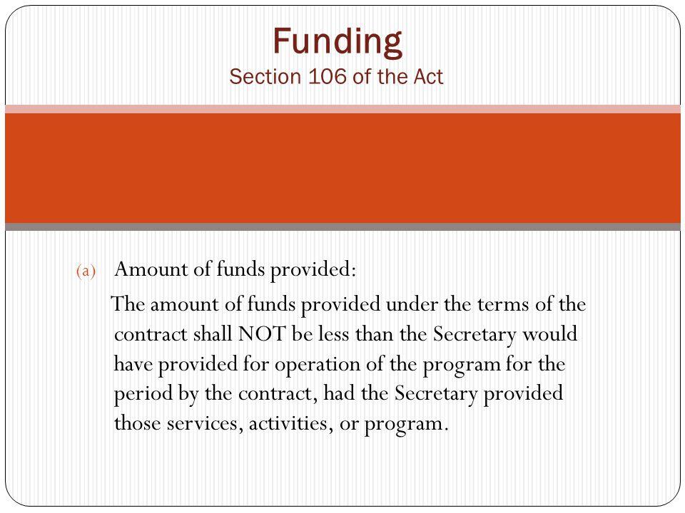 Funding (d).