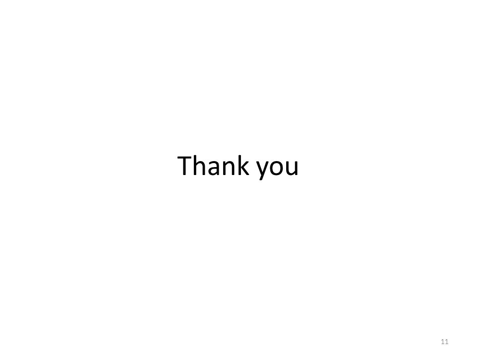 Thank you 11