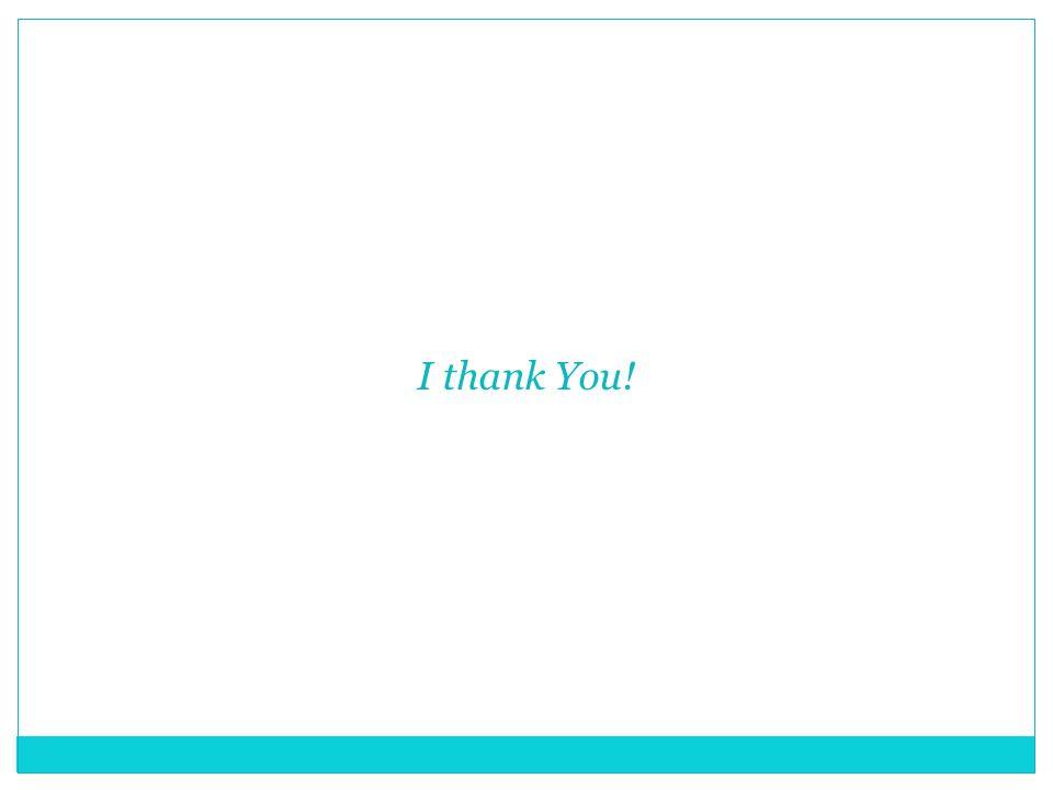 I thank You!