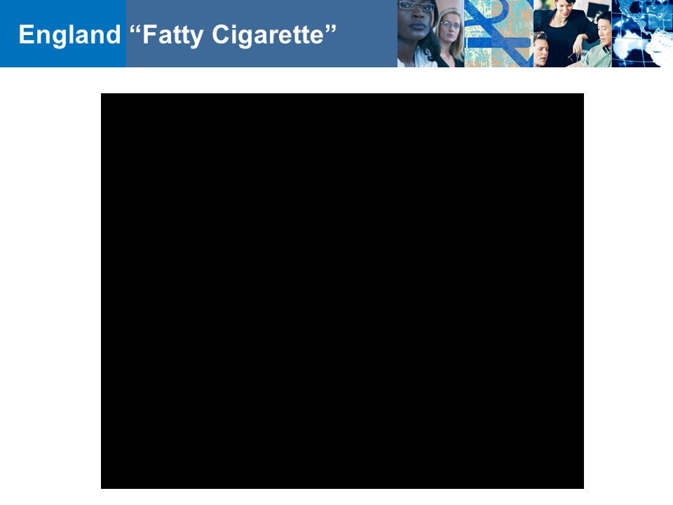 England Fatty Cigarette
