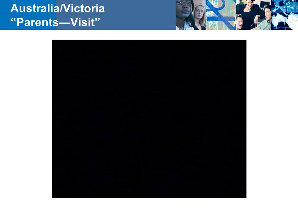 """Australia/Victoria """"Parents—Visit"""""""