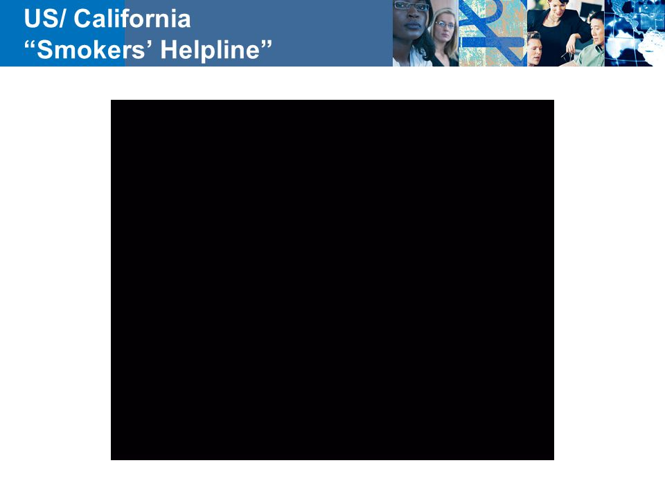 US/ California Smokers' Helpline