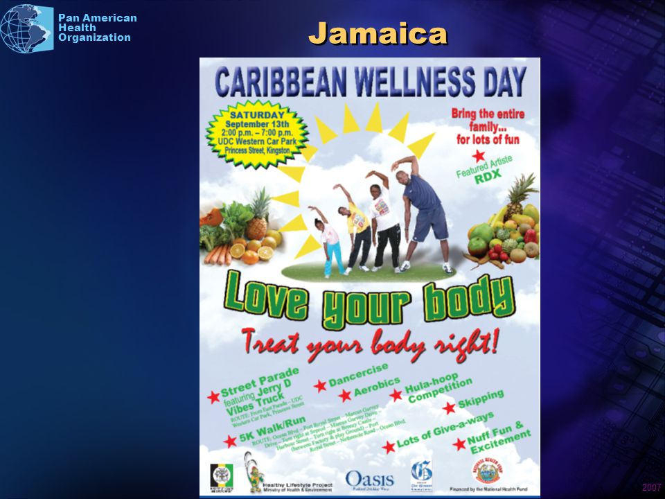 2007 Pan American Health Organization Jamaica