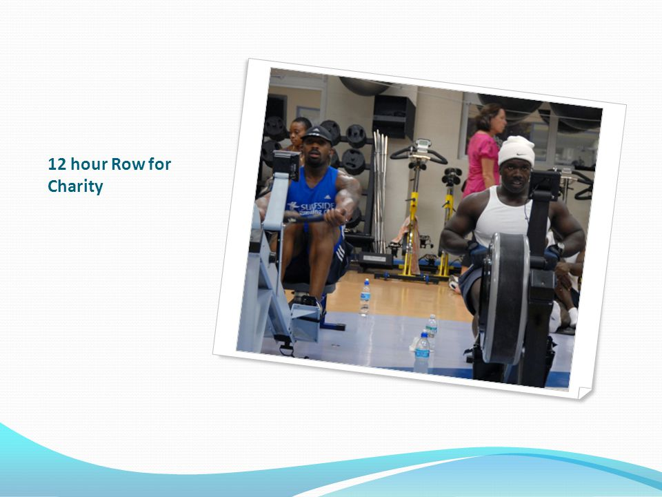 12 hour Row for Charity