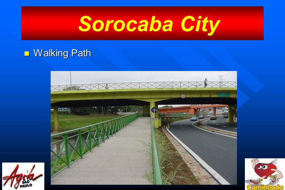 Walking Path Walking Path Sorocaba City