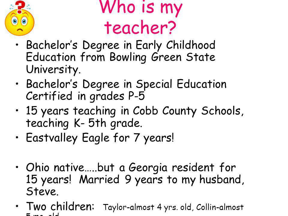 Who is my teacher.