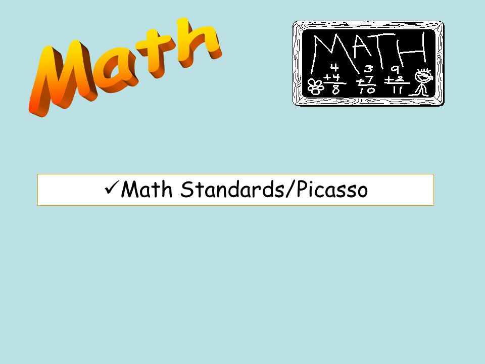 Math Standards/Picasso