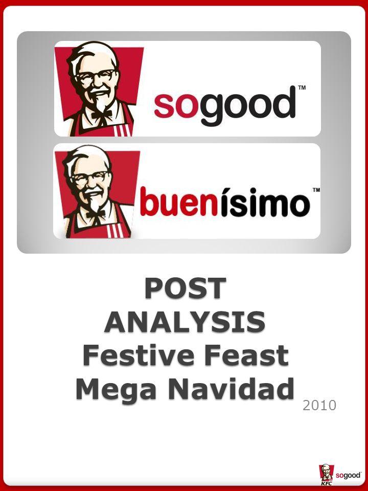 POST ANALYSIS Festive Feast Mega Navidad 2010