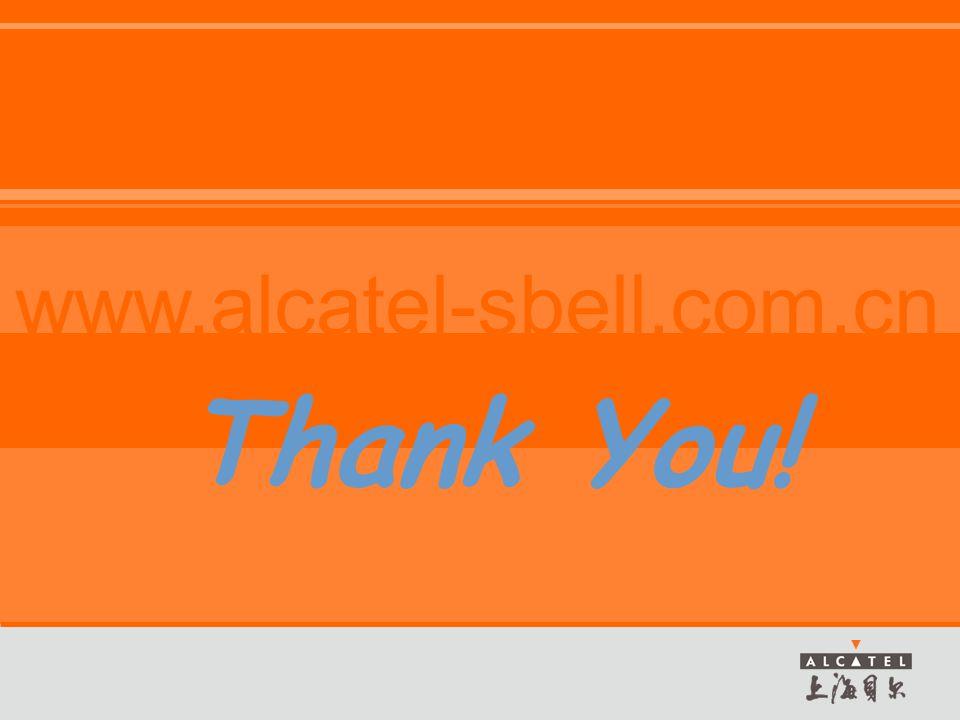 www.alcatel-sbell.com.cn Thank You!