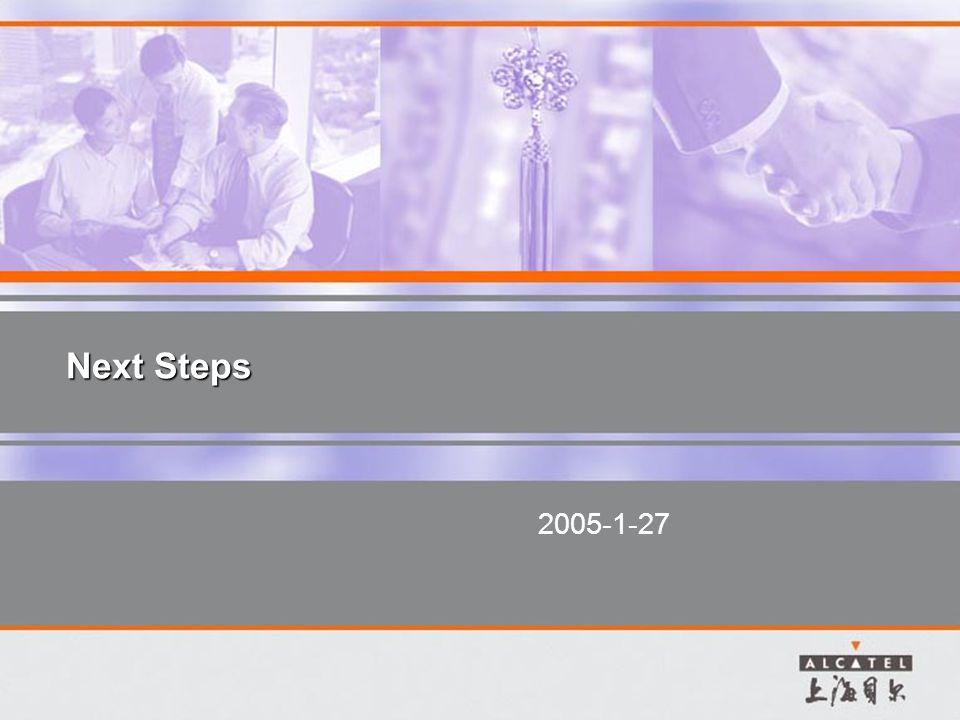 Next Steps 2005-1-27