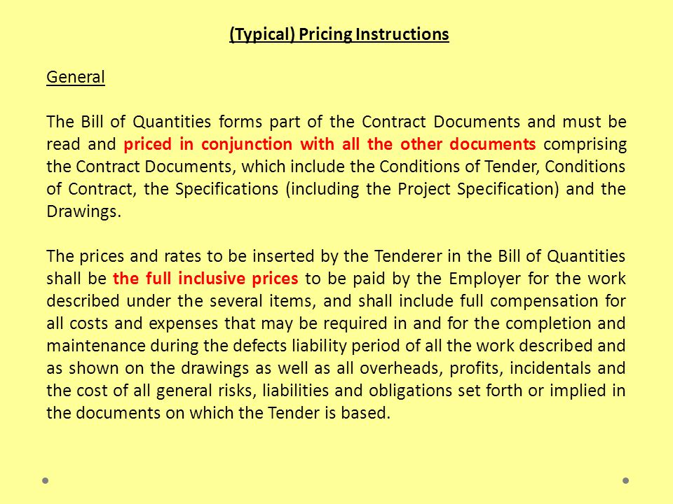 Contract Data The Contract Data shall reference the Standard Conditions of Contract.
