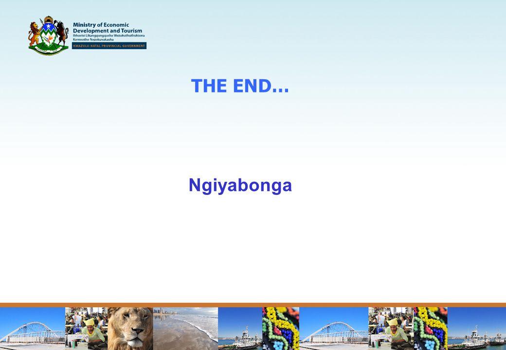 THE END… Ngiyabonga
