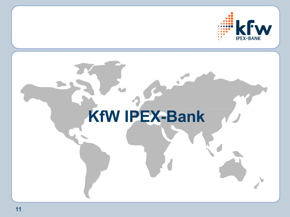 11 KfW IPEX-Bank