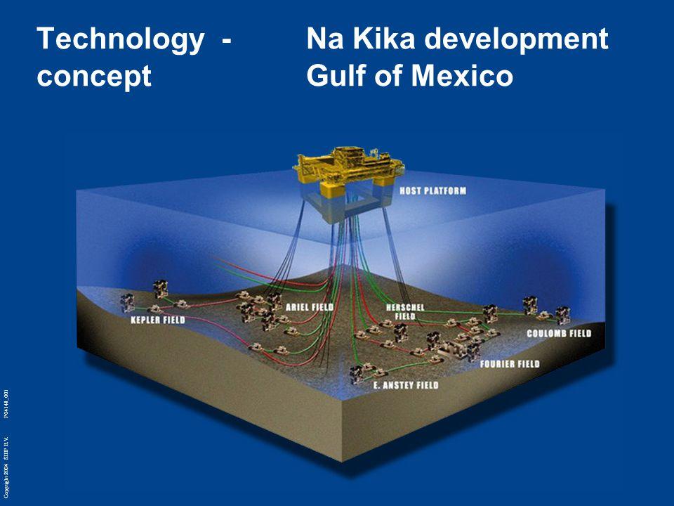Copyright 2004 SIEP B.V. P04148_001 Technology - Na Kika development concept Gulf of Mexico
